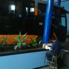Photo taken at Terminal de Buses MUSOC by Marcela H. on 12/22/2011