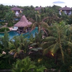 Photo taken at Le Méridien Shimei Bay Beach Resort & Spa by Nick H. on 10/27/2011