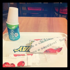 Photo taken at Subway by Dorly N. on 10/31/2011
