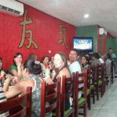 Photo taken at Taiwan Pizzaria by Omar L. on 12/22/2011