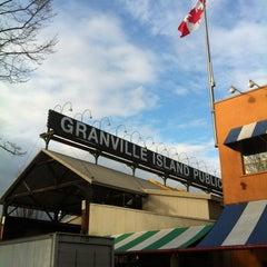 Photo taken at Granville Island Public Market by MK K. on 3/21/2012