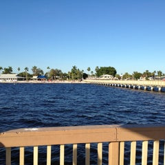 Photo taken at Cape Coral Beach at Yacht Club Community Park by Rita L. on 12/30/2011