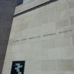 Photo taken at United States Holocaust Memorial Museum by Mike H. on 6/3/2012