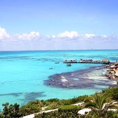 Photo taken at Isla Mujeres by PriceTravel on 5/8/2012