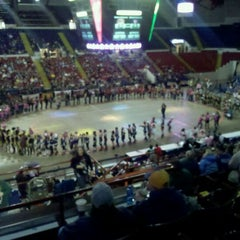 Photo taken at UW–Milwaukee Panther Arena by Carl W. on 1/15/2012