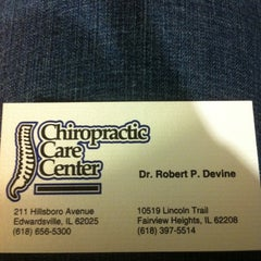 Photo taken at Chiropractic Care Center by Debbie S. on 2/16/2011