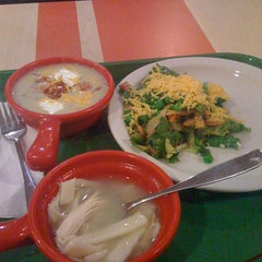 Photo taken at Sweet Tomatoes by Jini M. on 7/26/2011