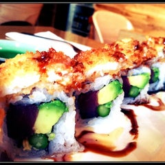 Photo taken at California Roll & Sushi Fish by Natalia C. on 4/10/2012