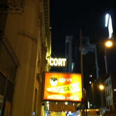 Photo taken at Cort Theatre by Michele W. on 12/3/2011