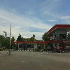 Photo taken at Pertamina Terminal BBM Malang by indra g. on 1/17/2012