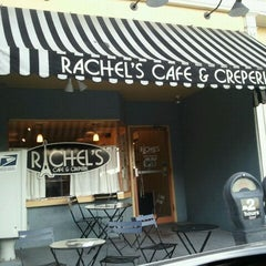 Photo taken at Rachel's Cafe & Creperie by Andrea D. on 10/5/2011