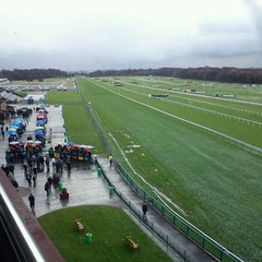 Photo taken at Haydock Park Racecourse by Stephen C. on 12/17/2011