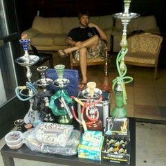 Photo taken at Blue Midnight Hookah Lounge by Ryan M. on 8/12/2011