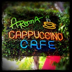 Photo taken at Aroma Coffee and Tea Co. by MyLastBite on 5/4/2012