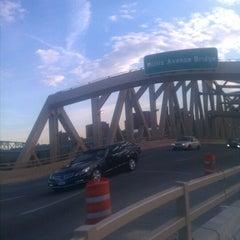 Photo taken at Willis Avenue Bridge by Matt S. on 4/17/2012