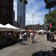 Photo taken at Hell's Kitchen Flea Market by Eugene L. on 7/21/2012