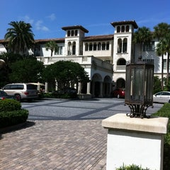 Photo taken at The Cloister at Sea Island by Jen B. on 8/11/2012