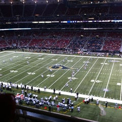Photo taken at Edward Jones Dome by Beth C. on 8/30/2012