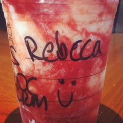 Photo taken at Starbucks by Rebecca G. on 5/28/2012