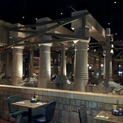 Photo taken at MORE The Buffet at Luxor by Dawnmarie C. on 5/20/2012