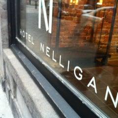Photo taken at Hôtel Nelligan by Erin M. on 7/27/2012