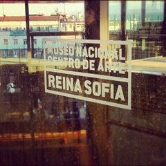 Photo taken at Biblioteca Museo Reina Sofía - Edificio Nouvel by Brian L. on 5/24/2012