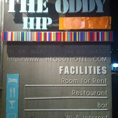 Photo taken at The Oddy Hip Hotel by Orangez J. on 4/28/2012