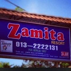 Photo taken at Zamita Resort by Ewan on 7/10/2012