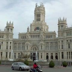 Photo taken at Palacio de Cibeles by Calixto G. on 3/23/2012