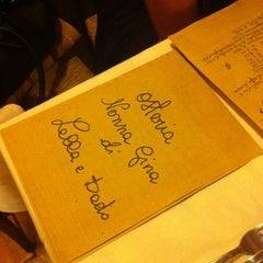 Photo taken at Osteria Nonna Gina by Adalpina P. on 8/22/2012