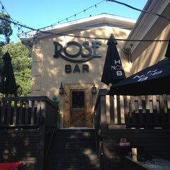 Photo taken at Rose Bar by Houston G. on 7/28/2012
