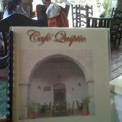 Photo taken at Café Quiptic by Sel C. on 3/18/2012
