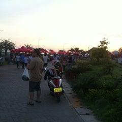 Photo taken at Walking Street By Khong Riverside by Ken Marvin on 6/29/2012