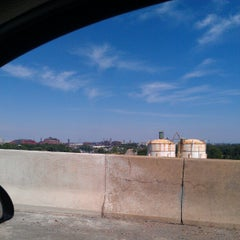 Photo taken at I-75 Rouge River Bridge by Aaron L. on 7/21/2012