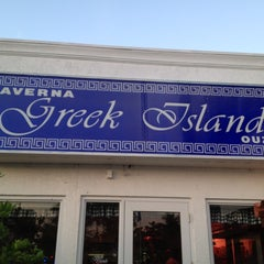 Photo taken at Greek Islands Taverna by Frances B. on 2/23/2012