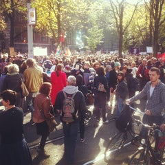 Photo taken at Beursplein by Boris 🆕⚛ v. on 10/15/2011