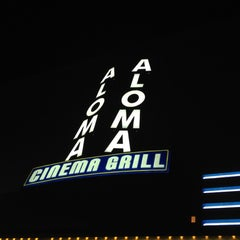 Photo taken at Aloma Cinema Grill by Fred H. on 1/27/2012