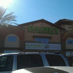 Photo taken at Glazier's Food Marketplace by Delain R. on 12/5/2011