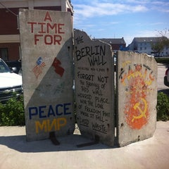 Photo taken at Berlin Wall by Tom B. on 9/1/2011
