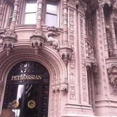 Photo taken at Petrossian Boutique & Cafe by Mandola Joe on 10/4/2011