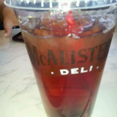Photo taken at McAlister's Deli by Jenny C. on 4/3/2012