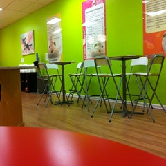Photo taken at YoguRoute by Bruce B. on 1/11/2012
