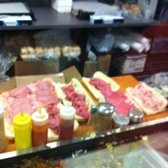 Photo taken at Laspada's Original Hoagies by Jesus Q. on 6/8/2012