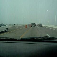 Photo taken at The Hathaway Bridge by Slim P. on 2/22/2012