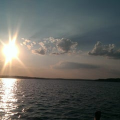 Photo taken at Canyon Lake by Nathan S. on 8/30/2012
