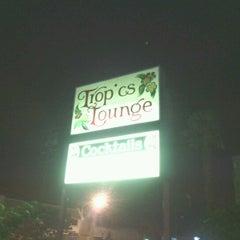 Photo taken at Tropics Lounge by Craig on 8/12/2012