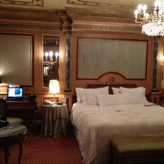 Photo taken at The Westin Palace Milan by Nigel F. on 3/29/2012