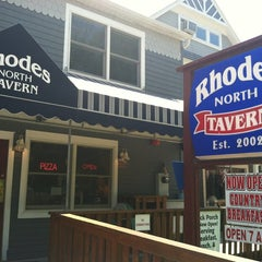 Photo taken at Rhodes North Tavern by Samuel M. on 5/31/2012
