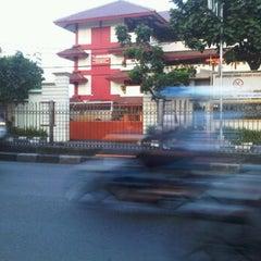 Photo taken at SMP Negeri 49 Jakarta by noviara d. on 5/27/2012