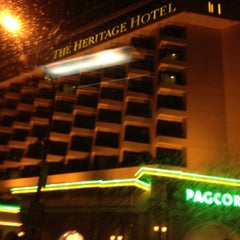 Photo taken at The Heritage Hotel by @enjayneer on 4/23/2012